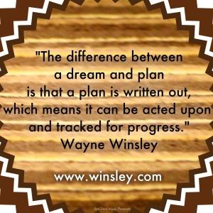 Write your plan