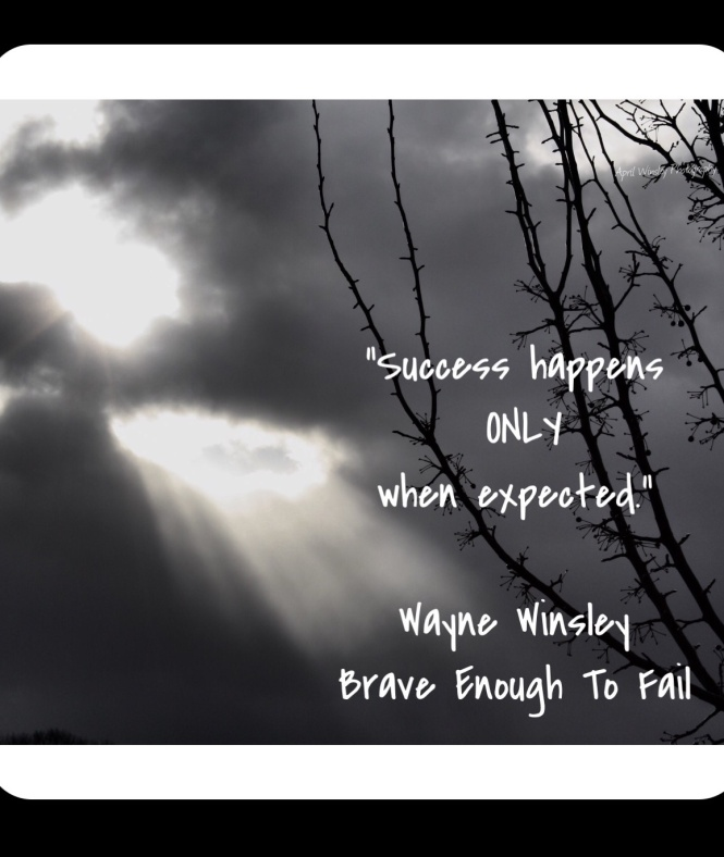 Expect success