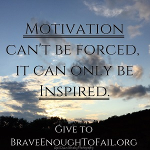 Motivation is Inspired